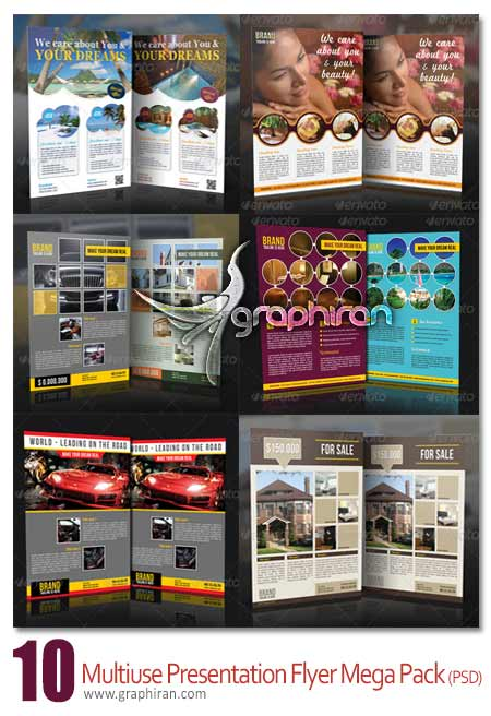 Multiuse Presentation Flyer Mega Pack