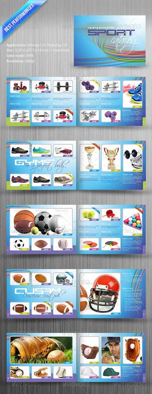 Sport Catalog Template