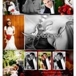 دانلود فون های لایه باز آلبوم دیجیتال عکس عروس و داماد – بخش اول