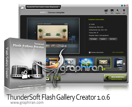 ThunderSoft Flash Gallery Creator 1.0.6