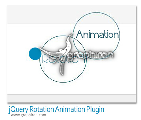 jQuery Rotation Animation Plugin پلاگین جی کوئری چرخاندن عناصر jQuery Rotation Animation Plugin