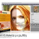 دانلود نرم افزار آرایش صورت در عکس AKVIS MakeUp 6.0.729.17903