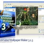 نرم افزار ساخت والپیپر متحرک Animated Wallpaper Maker 4.3.2