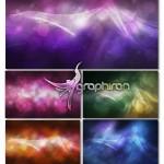 دانلود PSD تصاویر لایه باز بک گراند های انتزاعی رنگارنگ و زیبا