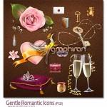 Gentle Romantic icon 150x150 دانلود فونت عاشقانه و رمانتیک Forestelly Wedding Font