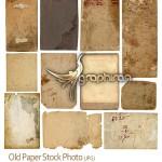 دانلود عکس های باکیفیت کاغذ قدیمی با بافت کهنه Old Paper Photo