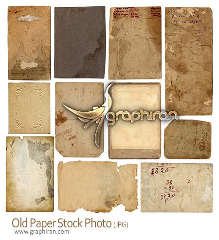 عکس کاغذ قدیمی