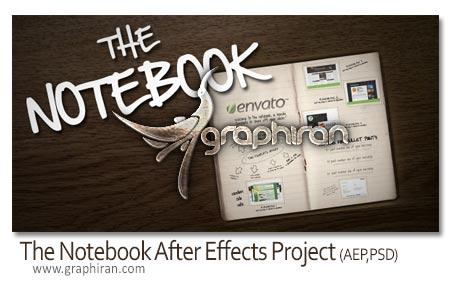 پروژه افتر افکت The Notebook