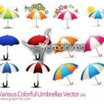 Various Colorful Umbrellas 150x150 دانلود براش فتوشاپ انواع سایه چشم Eyeshadow Photoshop Brush