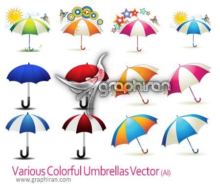 وکتور چتر و سایه بان