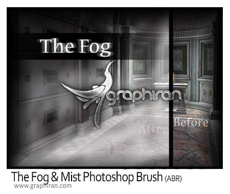 براش مه فتوشاپ