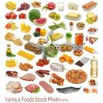 دانلود عکس استوک انواع مواد غذایی و میوه Food Stock Photo