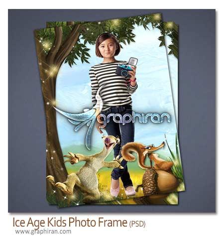 دانلود رایگان فون آتلیه کودک با عکس کارتون عصر یخبندان – شماره ۱۸