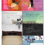 دانلود مجموعه فونت های جدید انگلیسی با طراحی زیبا و ساده