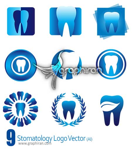 لوگو دندان پزشکی