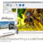 افزایش سایز عکس بدون افت کیفیت Benvista PhotoZoom Pro 7.0.4