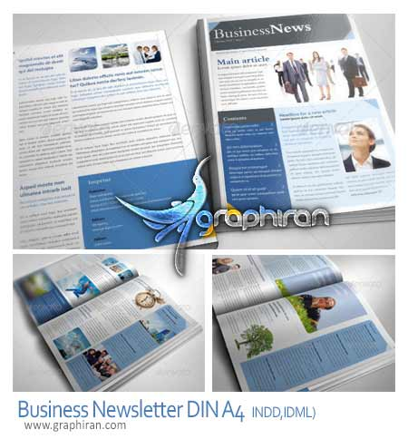 Business Newsletter DIN A4