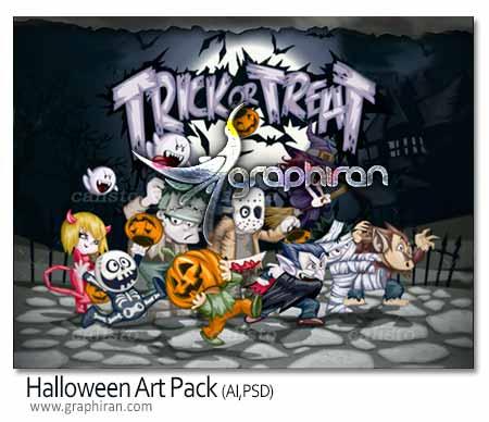Halloween Vector Art