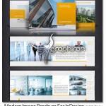 Modern Image Brochure 150x150 دانلود قالب لایه باز آلبوم عکس خانوادگی برای InDesign