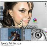 دانلود نرم افزار نقاشی دیجیتال حرفه ای Speedy Painter 3.6.2