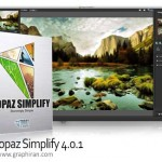 پلاگین فتوشاپ تبدیل عکس عادی به تصاویر هنری Topaz Simplify 4.1.1