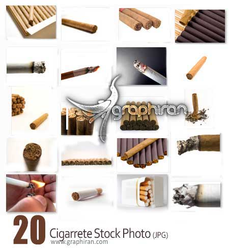 عکس استوک سیگار