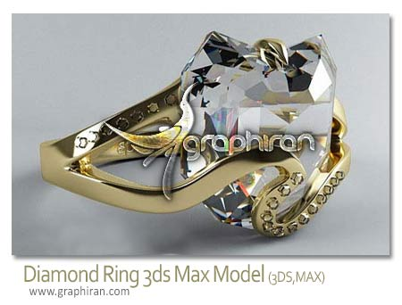 diamond 3ds max model
