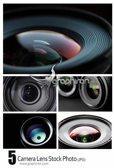 عکس با کیفیت لنز دوربین عکاسی