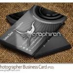 دانلود طرح لایه باز کارت ویزیت عکاسی Photographer Business Card