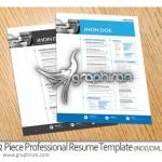 resume 150x150 دانلود نمونه آماده رزومه کاری و کارت ویزیت شرکت PSD لایه باز