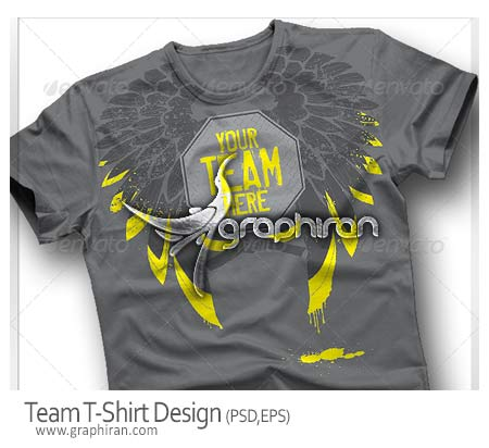 طرح برای چاپ روی تیشرت