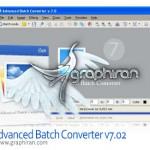 نرم افزار تبدیل فرمت تصاویر به یکدیگر Advanced Batch Converter v7.95