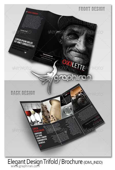 Elegant Design Trifold Brochure