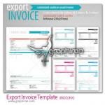 دانلود نمونه آماده فاکتور و صورتحساب فروش صادرات محصولات