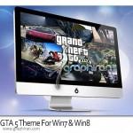 تم بازی GTA 5 برای ویندوز ۷ و ۸ – Grand Theft Auto V Theme