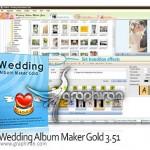 نرم افزار طراحی آلبوم عکس عروسی Wedding Album Maker Gold 3.53