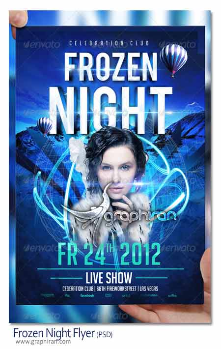 frozen night flyer