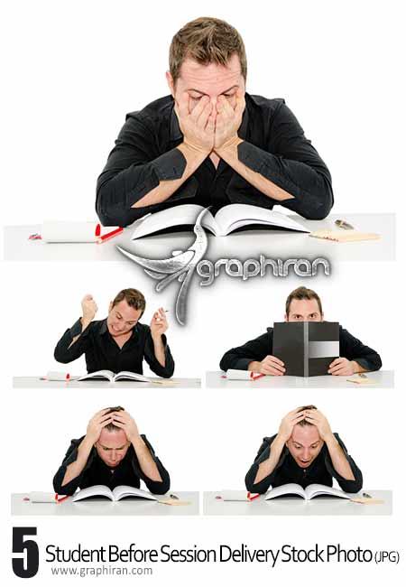 عکس استوک دانشجو و امتحانات