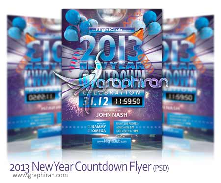2013-New-Year-Countdown-Party-Flyer