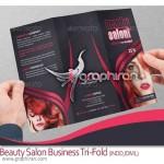 Beauty Salon Business Tri Fold 150x150 دانلود مجموعه لوگوهای وکتور آرایشگاه زنانه و سالن زیبایی