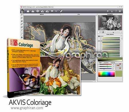 دانلود AKVIS Coloriage