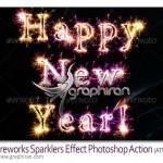 Fireworks Sparklers Effect 150x150 اکشن فتوشاپ افکت قلموی نقاشی Brushart Vol1 Photoshop Effect