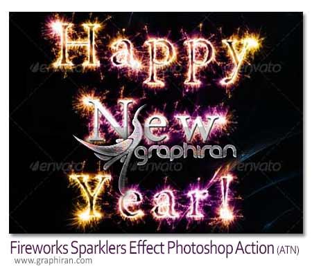 Fireworks Sparklers Effect