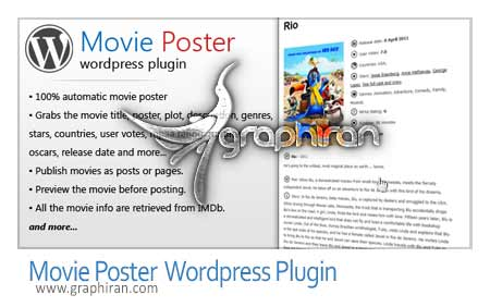 Movie Poster WordPress Plugin