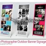 Photographer Outdoor Banner Signage 150x150 بنر خیر مقدم بازگشت از مکه فرمت PSD لایه باز – شماره ۱