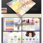 طرح آماده کاتالوگ محصولات ویژه بانوان Product Catalog for Women