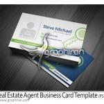 Real Estate Agent Business Card Template 150x150 تصاویر وکتور لوگو ساختمان و مشاور املاک Real Estate Logo Set