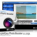 برنامه افزایش کیفیت رنگ های عکس SuperEasy Photo Booster 1.1.3056