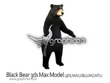 bear 3ds max model