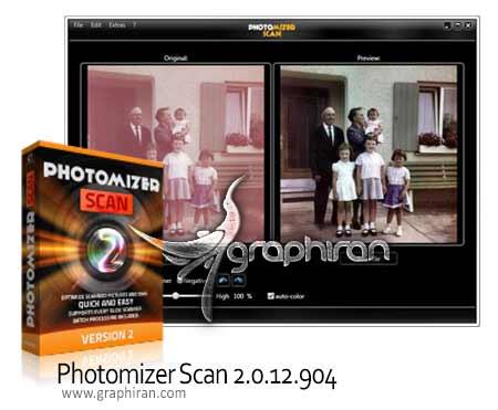 photomizer.scan .2.0 نرم افزار ویرایش تصاویر اسکن شده Photomizer Scan 2.0.12.904